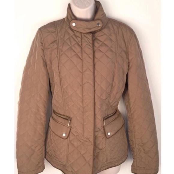 Zara Jackets & Blazers - 🔷BOGO🔷 🆕 Zara camel tan quilted coat jacket XL
